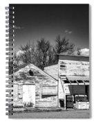 Main Street In Fort Shaw, Montana Spiral Notebook