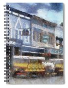 Main Street Mackinac Island Michigan Pa 04 Spiral Notebook