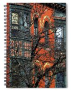 Main Street Middletown On A Sunny Spring Day Spiral Notebook
