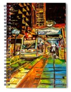 Main Street Square Spiral Notebook