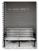 Main Street Usa Spiral Notebook