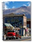 Main Town Street Spiral Notebook