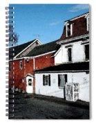 Maine Blue Hill Alleyway Spiral Notebook