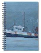 Maine Boat 2 Spiral Notebook