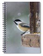 Maine Chickadee Spiral Notebook