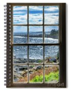 Maine Coast Picture Frame Spiral Notebook