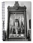 Maine State Capitol Hall Of Flags Modern Conflicts Display Case Spiral Notebook