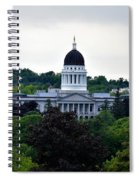 Maine State House Spiral Notebook