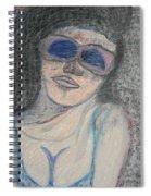 Maine Woman Spiral Notebook