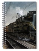 Mainline Memories Spiral Notebook