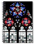 Mainz Cathedral Window Spiral Notebook