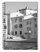 Maisons Sur Le Bord De La Mer A Saint - Tropez Spiral Notebook