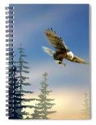 Majestic Eagle Spiral Notebook