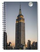 Majestic Empire State Bldg  N Y C Spiral Notebook