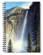 Majestic Falls Spiral Notebook