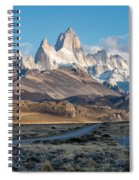 Majestic Fitz Roy Spiral Notebook