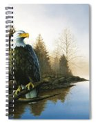 Majestic Light - Eagle Spiral Notebook
