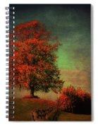 Majestic Linden Berry Tree Spiral Notebook