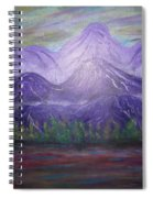 Majestic  Mountains Spiral Notebook