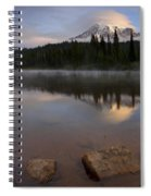 Majestic  Rainier Dawn Spiral Notebook