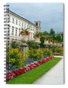 Majestic Salzburg Garden Spiral Notebook