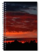 Majestic Sunset 2 Spiral Notebook
