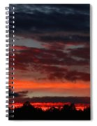 Majestic Sunset 3 Spiral Notebook