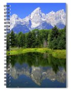 Majestic Tetons Spiral Notebook