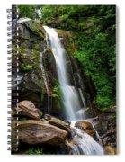 Majestic Waterfall Spiral Notebook