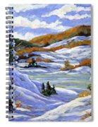 Majestic Winter  Spiral Notebook