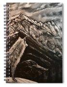 Majestic Wolf Spiral Notebook