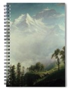 Majesty Of The Mountains Spiral Notebook