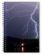 Major Foothills Lightning Strikes Spiral Notebook