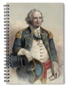 Major General Israel Putnam Spiral Notebook