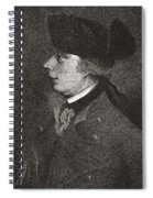Major General James Wolfe, 1727 To Spiral Notebook