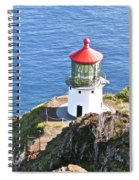 Makapuu Lighthouse 1065 Spiral Notebook