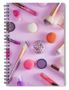Make Up And Sweets Spiral Notebook