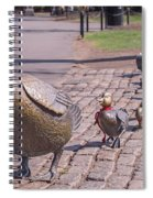 Make Way For The Ducklings Spiral Notebook