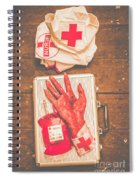 Make Your Own Frankenstein Medical Kit  Spiral Notebook