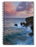 Makewehi Sunset Spiral Notebook