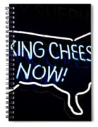 Making Cheese Now Spiral Notebook
