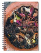 Making Compost Out Of Garbage Spiral Notebook