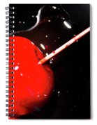Making Homemade Sticky Toffee Apples Spiral Notebook