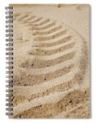 Making Tracks Spiral Notebook