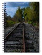 Making Tracks Spiral Notebook