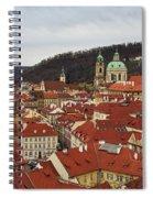 Mala Strana Rooftops. Prague Spring 2017 Spiral Notebook