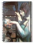 malczewski4 Jacek Malczewski Spiral Notebook