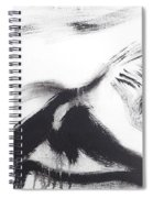 Male Back Spiral Notebook