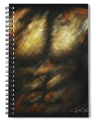 Male Bodybuilder Spiral Notebook