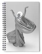 Male Lamp Number Eighteen Spiral Notebook